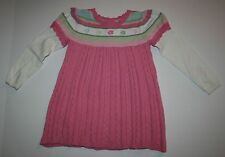 New Gymboree Flower Stripe Double Sleeve Sweater Dress 5T NWT Fairy Wishes Line
