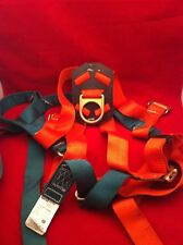 MSA ROSE PULLOVER HARNESS STD Size Standard 502720 H Climbing 2000 Orange/Green