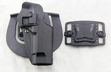 BK Airsoft Tactical Right Hand holster Paddle with Belt for M9 M92 Bereta Pistol
