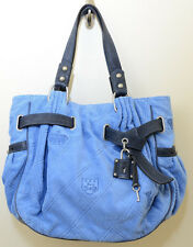 JUICY COUTURE, Velour Iconic Padlock Day Bag Color: Catch A Wave (Blue)
