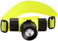 SE 5 Watt Waterproof Diving Headlamp Cree Q5 Bulb - 82 Lumens-New in the Package