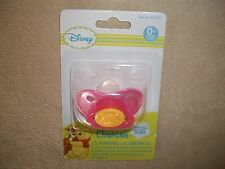 Pink Disney Baby Winnie The Pooh BPA Free Pacifier, Ages 0+ Mos, NEW IN PACKAGE!