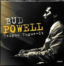 Bud Powell - Tempus Fugue-It  incl. 48 Page Booklet [4CD Box]   NEU+SEALED!