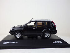 NISSAN 1st X-TRAIL Xtt (T30) 2005  Super Black  1:43 J-collection Kyosho USED