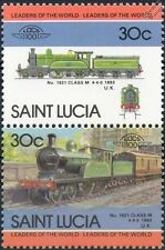 1893 NER Class M 4-4-0 No.1621 North Eastern Railway Train Stamps / LOCO 100