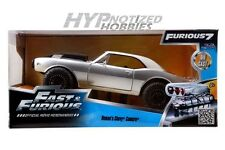 JADA 1:24 FAST AND FURIOUS 7 ROMAN'S CHEVY CAMARO OFFROAD Z/28 SILVER 97166