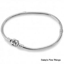 NEW AUTHENTIC PANDORA BRACELET BARREL CLASP 590702HV-23 23cm/9.1IN   P