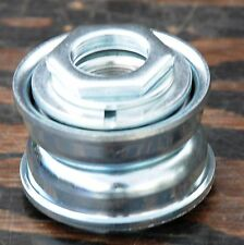 Silver 24 tpi 1 Piece Crank BOTTOM BRACKET Cruiser Bicycle BMX Vintage Tank Bike