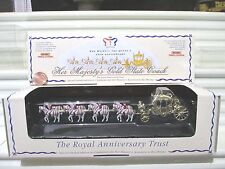 Matchbox 1992 Models of Yesteryear Y66A HER MAJESTYs Gold 1762 STATE COACH