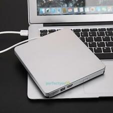 External USB3.0 CD/DVD-RW Burner Writer external hard drive for Apple Macbook