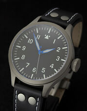2014 TICINO TITANIUM B-URH Pilot Watch with Miyota 9015 Movement