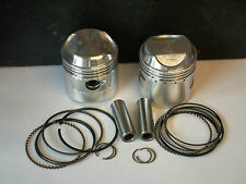 HONDA CB175 CL175 CD175 PISTON KITS (2) NEW +0.5mm OVERSIZE 1967-1977 KiR