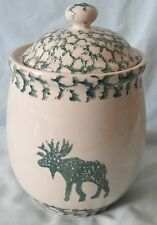 Tienshan Moose Country Sponge Green Canister Small Size