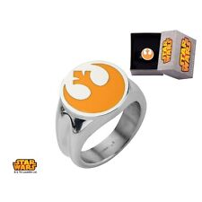 Star Wars Movie Rebel Alliance Symbol Licensed Ring Size 9-12
