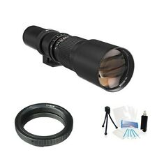 High Resolution Telephoto Lens 500mm F8.0 for Canon EOS Rebel T6 Camerasa