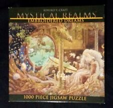 Ceaco Mystical Realms Fantasy 1000 Piece Jigsaw Puzzle Dragon Embroidered Dreams