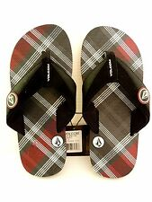 NEW VOLCOM BIG YOUTH VOCATION FLIPS FLOPS THONGS SANDALS SIZE 3 ITEM 25