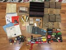 Vtg Kingsley Franklin Hot Foil Stamping Embossing Letters Foil TypeStick Cabinet