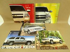 2003-2007 Chevrolet Chevy Tahoe Brochure Lot Accessories Buyers Guide