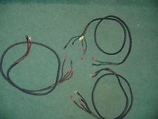 AUDIOQUEST GIBRALTAR PSC DOUBLE QUADHELIXES  SPEAKER WIRE -- 3     5 FOOT EACH