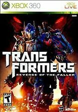 Transformers: Revenge of the Fallen (Microsoft Xbox 360, 2009) VERY GOOD