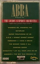 ABBA Played By The London Symphony Orchestra Cassette Tape Rare