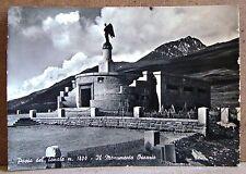Passo del Tonale m.1800 - il Monumento Ossario [grande, b/n, viaggiata]