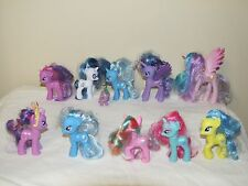 MY LITTLE PONY 10 G4 UNICORNS AND 2 WITH WINGS WITH SPIKE