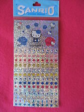Sanrio Hello Kitty SCHEDULE STICKERS ROSE Collectible Vintage New 1998