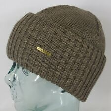 STETSON knit cap NORTHPORT Beige Cap Woolen Hat Winter hat New
