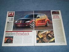 "2001 PT Cruiser Custom by Stull Industries Article ""Modern Throwback"""