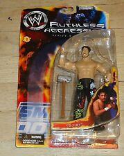 2002 WWF WWE Jakks Tajiri Ruthless Aggression Series 5 Wrestling figure MOC