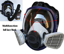 Updated For 3M 6800 Full Face Respirator Silicone Gas Mask Facepiece Spraying