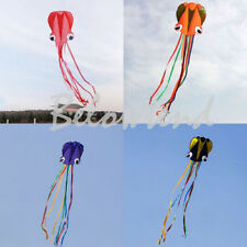 Outdoor Sport 4M Octopus Soft Kite with 30m Fly line Handle Beginner Fun Toy