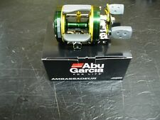 ABU GARCIA 6600 CLASSIC C4 ROUND REEL CUSTOM GREEN & YELLOW