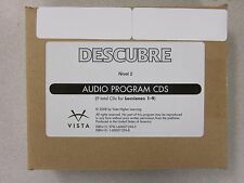 Descubre Nivel 2 Spanish Audio Program CDs 1-9 Vista New 1600072968