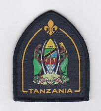 SCOUTS OF TANZANIA - PRESIDENT'S SCOUT Highest Rank Top Award Patch (NEW)