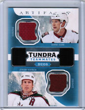 16/17 UD ARTIFACTS DOAN ROENICK TUNDRA TEAMMATES DUOS JERSEY 199 PHOENIX COYOTES
