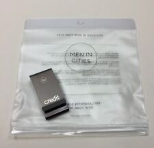 Men In Cities DOUBLE SIDED CASH AND CREDIT MONEY CLIP Popsugar