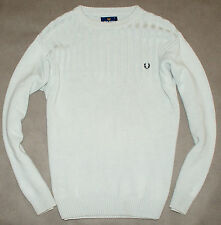 Fred Perry Pullover Weiß Gr. S