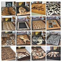 New Small Extra Large Modern Soft Animal Print Area Rugs Carpet Mats Cheap Rug