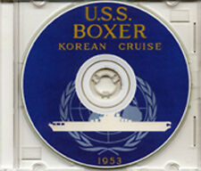 USS Boxer CVA 21 Korea War 1953 CRUISE BOOK CD RARE