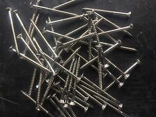 Decking Screws Stainless Countersunk Square Drive 10g x 65mm.Box 500 for timber