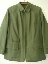 English Womens Vintage Original Grenfell Cloth Cotton Windproof Golfer Jacket