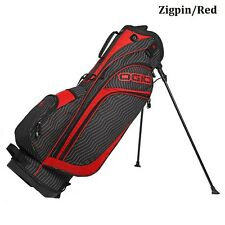 New Ogio Golf 2015 Press Stand Bag Zigpin/Red