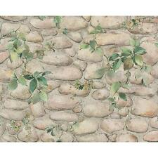 NEW AS CREATION PEBBLE STONE PATTERN IVY VINE MOTIF TEXTURED WALLPAPER 834416