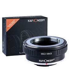 M42 Lens to Micro 4/3 M4/3 m43 Adapter GX1 GF3 G5 G3 GF2 E-P5 E-P3 E-PM1 E-PL2