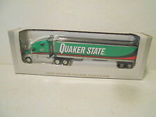Liberty Classics  Freightliner C120 Quaker State Die-Cast Metal Bank - New