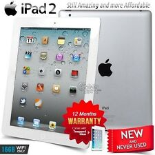 New in Sealed Box APPLE iPad 2 II A5 CPU 16GB White PC Tablet (Wifi Only)