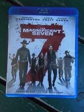 THE MAGNIFICENT SEVEN BLU-RAY DIGITAL DENZEL WASHINGTON ETHAN HAWKE ULTRAVIOLET